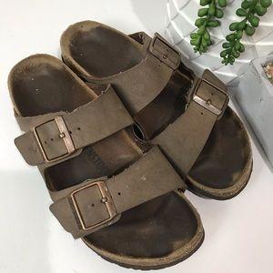Birkenstock Arizona brown sandals size 40
